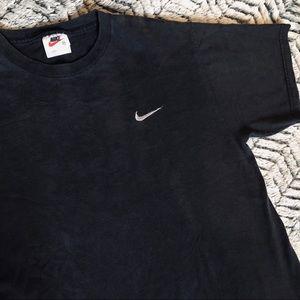 90s Nike Stitched Logo Mens T-Shirt